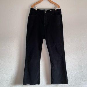 NYDJ Black Stretch Cords